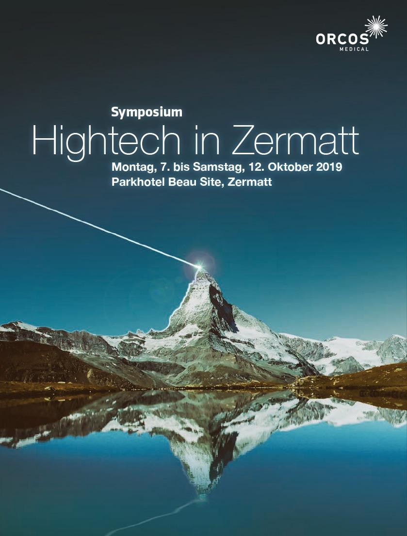 Hightech in Zermatt