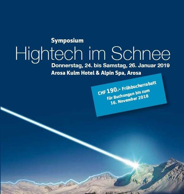 Hightech im Schnee 2019