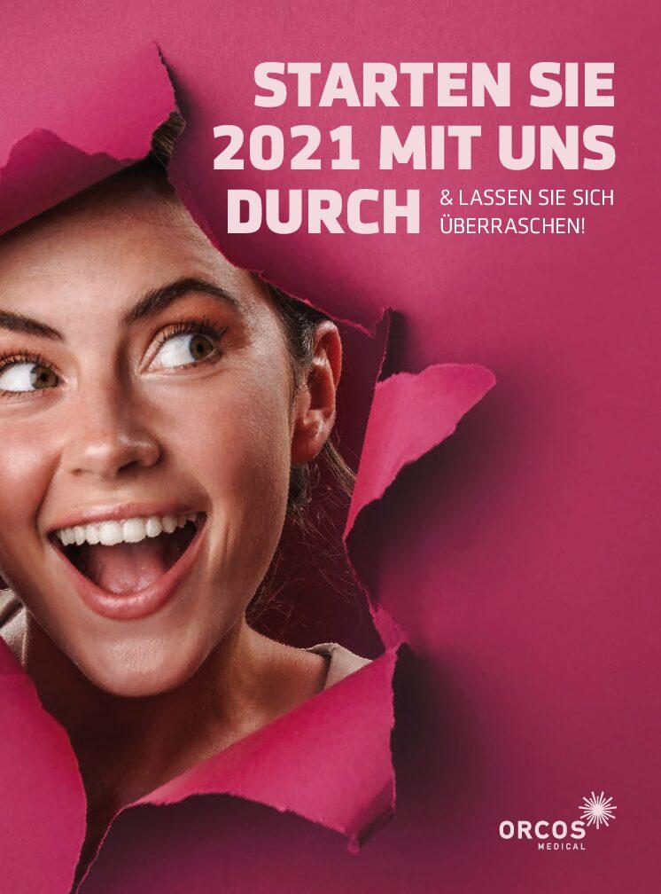 STARTEN SIE 2021 MIT UNS DURCH!