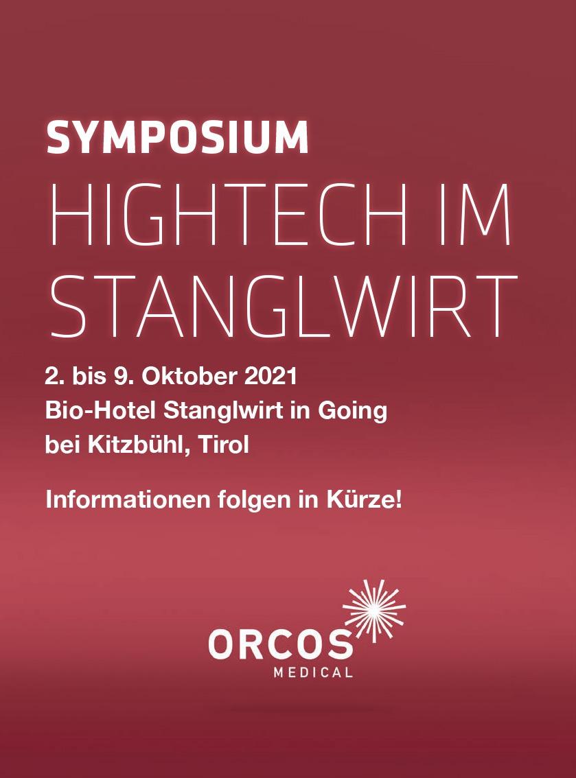 "Symposium ""HIGHTECH IM STANGLWIRT"""