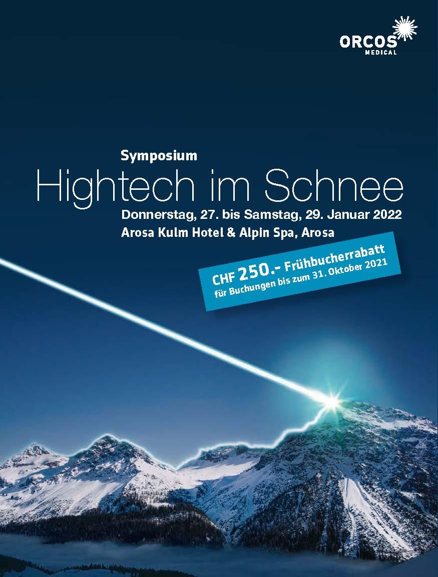 """Symposium """"HIGHTECH IM SCHNEE"""""""