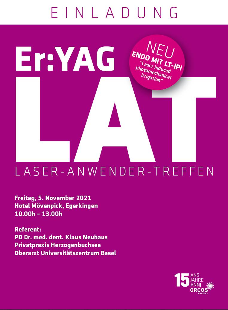 Laser-Anwender-Treffen (LAT) Er:YAG